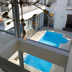 建築/住まい/プールハウス/コートハウス/家族の時間/インテリア 「水と光のある暮らし」吉祥寺のプールハウ…