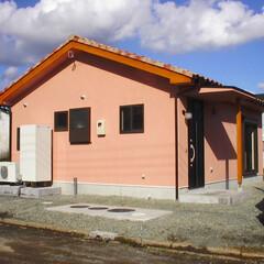 風家/自然素材/高気密高断熱 平屋のかわいい別荘です。 弊社の風家仕様…