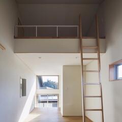 子ども室/はしご/ロフト