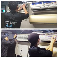 エアコンクリーニング/フィルター自動お掃除機能付きエアコン/エアコン/業務用エアコン 弊社には、複雑なフィルター自動お掃除機能…