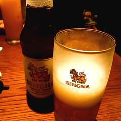 「夏はタイビール飲まなきゃね! 今日は表参…」(1枚目)