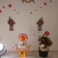 鏡餅/お正月飾り/2018/フォロー大歓迎/冬/年末年始/... リミアを始めて1ヶ月とちょっと、色々な方…