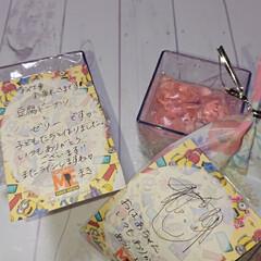 ホワイトデー/感謝💕/可愛いお手紙/ゼリー/豆腐ドーナツ/手作り/... 今日はホワイトデーでしたね❤️ 私には関…(2枚目)