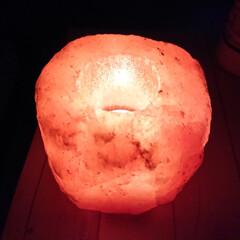インセンス/浄化/ヒマラヤ岩塩/癒し/フォロー大歓迎/旅行/... ノラちゃんに教えてもらった岩塩のキャンド…