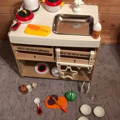 おままごと/キッチン/おもちゃ/KIDS/DIY/100均/...