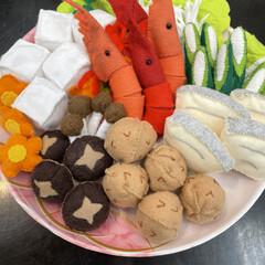 秋/紅葉/きのこ/どんぐり/鍋料理/カボチャ/... きっかけは 昨日 同僚から 😚鍋のコーナ…(3枚目)