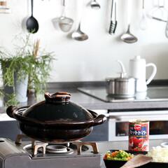 土楽/土鍋/お料理/スパゲッティ/ミートソース 土楽 さんの土鍋は 鍋物料理だけでなく …