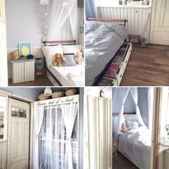 フレンチインテリア/ナチュラルインテリア/ベッド/寝室/女の子/子供部屋/... 子供部屋(女の子)