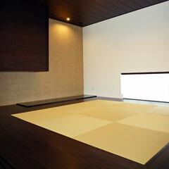 和室/琉球畳/エコカラット/ハーモシーリング/地窓/シンプルモダン/... 和室です。