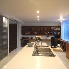 キッチン/オリジナルキッチン/豪邸/グッドデザイン/建築家/建築家とつくる家/... HIROO FLAT オリジナルキッチン…