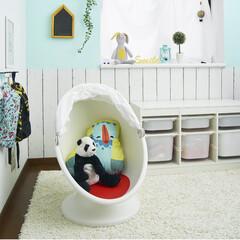 子供部屋収納/子供部屋/DIY/インテリア/家具/イケア/... 子供部屋の写真(o´罒`o)♡ イケアの…