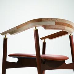 ダイニングチェア/アームチェア/モダン/木/書斎 Ostinato Arm Chair  …