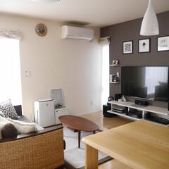 アートフレーム/リビング/デザイン/ポスター/ナチュラル ~emibeiさんのお部屋~ シンプルな…