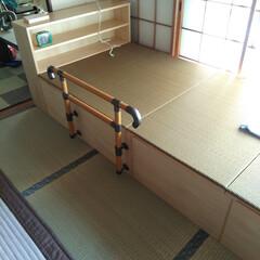 特注/畳ベッド お客様ご要望の分解移動式畳ベッド完成! …
