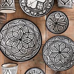 セラミック/モロッカン陶器/フェズ/サフィ/器/食器/... モロッコからはるばるやってきた、 サフィ…