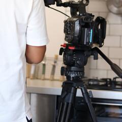カメラマンさん/カメラ/撮影/テレビ撮影 夏に我が家にテレビ撮影が入りました♪ も…