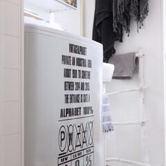 洗濯機ステッカー/ウォールステッカー/ステッカー/洗濯機 洗濯機にウォールステッカーを♬ ほんの少…
