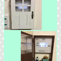 カバー/DIY/雑貨/インテリア/住まい/ハンドメイド インターホンカバー 給湯器スイッチカバー