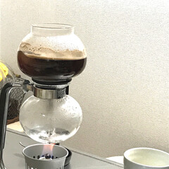 サイフォン/コーヒー サイフォンでコーヒー(^_^) この季節…