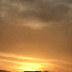 綺麗な空/空/冬空/冬の空/冬/夕陽/... こんばんは(o^^o) いつもありがとう…