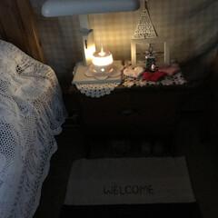 アロマディフューザー/アロマ/サイドチェスト/クリスマスインテリア/寝室/ベッドルーム/... こんばんは(o^^o) いつもありがとう…
