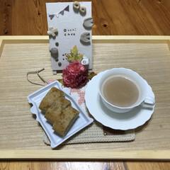 梅雨明け/晴れ/紅茶ケーキ/ハンドメイド作品/ハンドメイド作家さん/ハンドメイド/... こんにちは(o^^o) いつもありがとう…