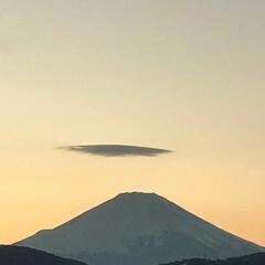 富士山/元日の富士山/晴れ/景色最高/景色/風景写真/... こんばんは(o^^o) いつもありがとう…