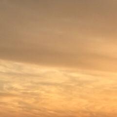 綺麗な空/冬/冬空/冬の空/夕陽/夕日/... こんばんは(o^^o) いつもありがとう…