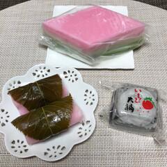 買い物/お買い物/いちご大福/さくら餅/ひし餅/美味しい/... こんにちは(o^^o) いつもありがとう…
