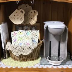 カップボード収納/食器棚収納/カップボード/食器棚/8月/8月/... こんにちは(o^^o) いつもありがとう…
