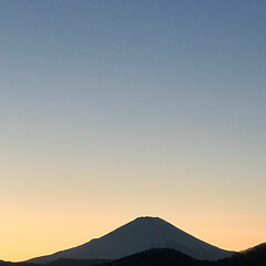 景色/夕陽/夕日/雪の富士山/山/雪山/... こんにちは(o^^o) いつもありがとう…