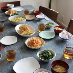 わたしのごはん/お昼ご飯/休日ランチ/頂き物/和食 全て頂き物の材料で作った♯わたしのごはん…