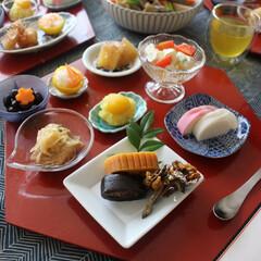お正月/お節料理/お節/テーブルコーディネート/和/お正月2020 2020年のお正月のテーブルです。 今年…