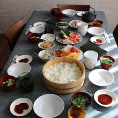節分/手巻き寿司/家族団らん/テーブルコーディネート/和風/わたしのごはん 手巻き巻き巻き 寿司パーティー  今年の…