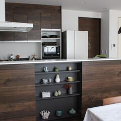 キッチン/ダイニング/Panasonic/リビングステーション/緑のある暮らし/雑貨/... わたしのお気に入りはキッチンダイニング。…