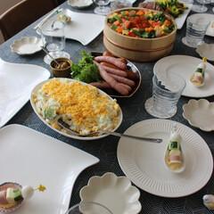お雛祭り/パーティー ひな祭りのテーブルです。 総勢9名でのお…