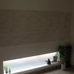 玄関/エコカラット/地窓/北欧ヴィンテージ/雑貨/骨董/... 今朝は汚れていた玄関のたたきを水拭き掃除…(1枚目)