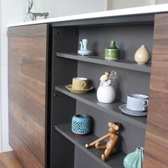北欧ヴィンテージ/骨董/器/花器/雑貨/雑貨だいすき お気に入りの雑貨。 キッチンの飾り棚にデ…