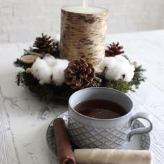 おやつ/ティータイム/紅茶/雑貨が好き/北欧食器/北欧ヴィンテージ/... 紅茶で3時のおやつタイム♬