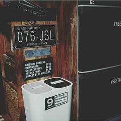 黒板シート/冷蔵庫/リメイクシート/カラーボックス/100均/セリア/...
