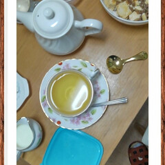 ここが好き 素晴らしい桃のウーロン茶! おいしーわー…