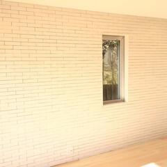 アクセント/タイル/アクセント壁 デザインと機能性の壁 置く家具を邪魔しな…(1枚目)