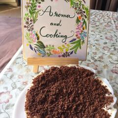 手作りケーキ/カリグラフィー/お料理教室/バレンタイン2019 ドゥーブルフロマージュを チョコ風味で作…