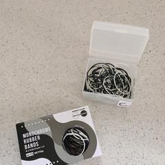 輪ゴム収納/整理収納アドバイザー/雑貨/100均/セリア セリアでお気に入りの輪ゴムを購入しました…