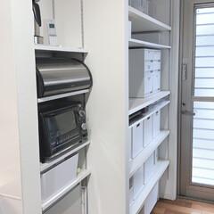 brabantia ブラバンシア ブレッドビン ロールトップ マット 29944-5(ブレッドケース)を使ったクチコミ「今日はパントリーの掃除と整理収納しました…」
