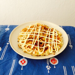 ベジタリアン/お好み焼き 玉ねぎや茸などの秋野菜をたっぷり使って、…