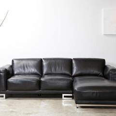 インテリア/家具/ソファ/本革/レザー/シンプル/... カッコイイソファが欲しい!と言う方、まず…