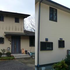 外壁塗装/屋根塗装/遮熱塗装/塗替え 塗装工事施工前と施工後