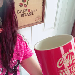 おうちカフェ/コーヒー/ピアス/ハンドメイド/リメイク/アクセサリー/... ペットボトルコーヒーのオマケの コーヒー…