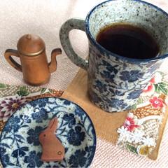 マグカップ/コーヒー/フォトコンテスト/和風/ハンドメイド/食器 なでしこの お花柄♪ マグカップと お揃…